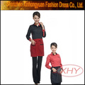 hotess uniformes para as mulheres de garçonete