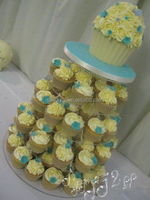 Shangshun brand plexiglass acrylic 5 tier wedding cake stands