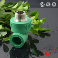 Corrosion Resistance CE Certification Male Female Threaded Elbow PPR Pipe And Fittings