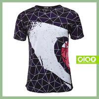 Taiwan new design with radium and korean print couple t-shirt