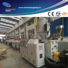 PE plastic pipe extrusion machine / HDPE pipe production machine / PE pipe production line
