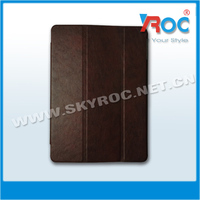 New arrival vintage 3-floder stand leathr case for ipad 5 air