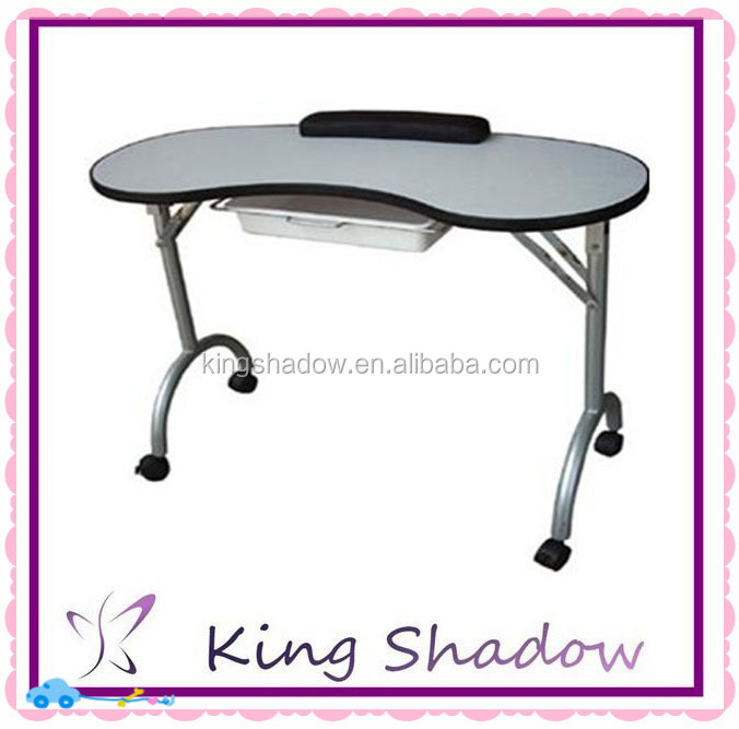 2015 Hot Selling Foldable And Portable Manicure Table For Nail With ...