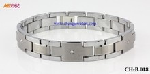 New arrived Antifatigue unisex jewelry tungsten bracelets brand jewelry not lose colour