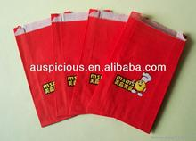 Packing food shopping paper bag kraft paper bag