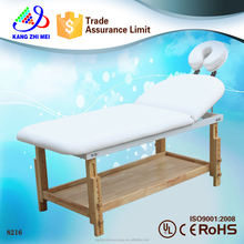 wood beauty bed therapeutic massage bed/ thermal jade stone massage bed / beauty salon facial bed 8216
