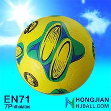 2015 manufactory mini rubber soccer balls cheap custom football size 2 inflate