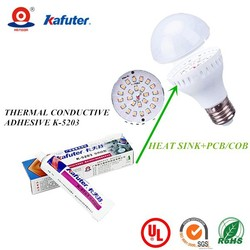LED Bulb Kafuter K-5203 thermal insulation electrically conductive adhesive thermal conductive adhesive