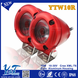 Professional manufacturer red Motorcycle 2inch lighting gold for truck motorcycles