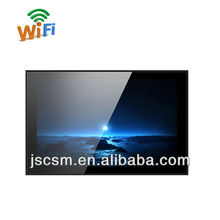 cheap 19/22/26/32/42/55 lcd advertising display display ad with HD good resolution, optional wifi