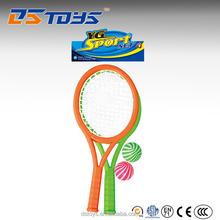 Hot Sale 13.5 cm plastic mini tennis rackets with ball