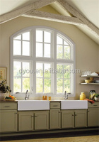 wrought top sale windows arch design from China supplier