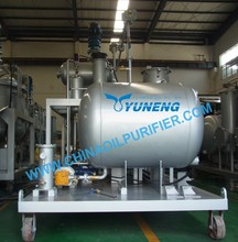 Black Diesel Oil Cleaning Machine Change Color to Yellow