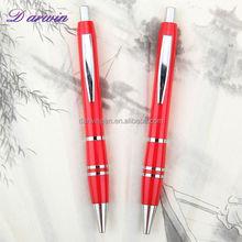Advertising cheap plastic pens customized plastic cute ball pen