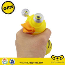 promotional vinyl figure rubber duck bath toy made in China