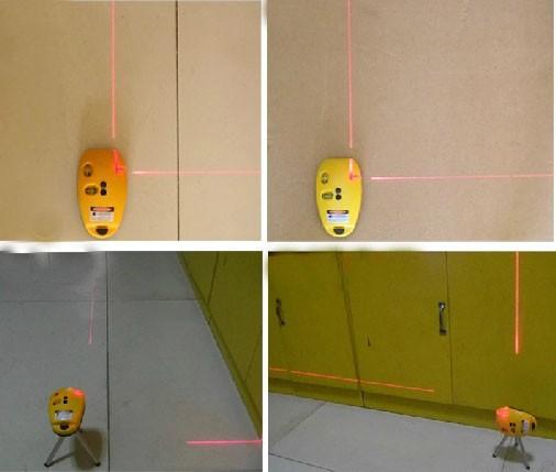 Лазерный уровень применяют для задания горизонтальной и вертикальной разметки при проведении строительных, отделочных и монтажных работ. Может использоваться при разметке фундамента здания, линии пола,установке строительных конструкций и элементов отделки