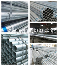 API 5L Hot dipped galvanized steel pipe used greenhouse frames for sale