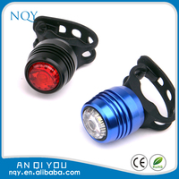 250mAh aluminum usb rechargeable led light set bicycle