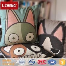 Hot Sale Fashion Funny Cat Designs Cushion Home Decor Cushion Crochet Cushion Cover