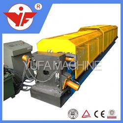 shuttering plates machinery glazed cabinet rack roll forming machine