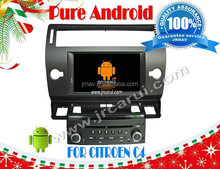 for Citroen C4 Pure android 4.4 car dvd player RDS ,GPS,WIFI,3G,support OBD,support TPMS