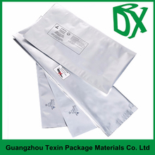 customzied aluminum foil three sides sealing bag for shampoo packing