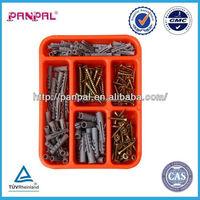 High Quality !!!! Assorted Self Drilling Chipboard Screw & Plastic Wall Plug