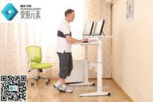 Hot selling office desk with metal legs with low price