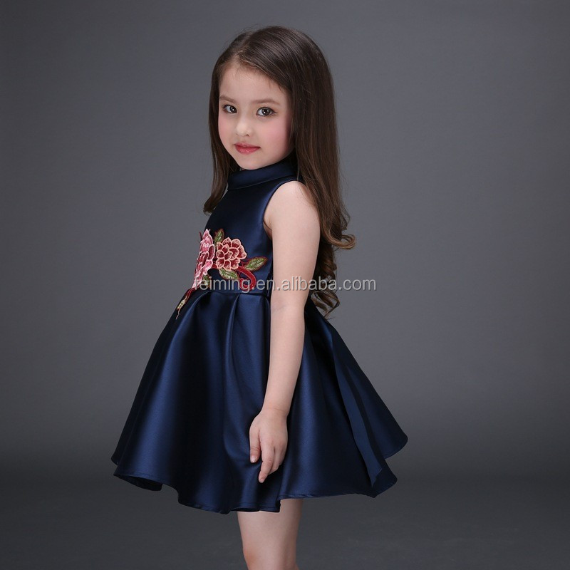 Baby Girl Dress Summer 2016 New Brand Baby Girls Dress Kids Clothes  Vestidos Children Dress Princess Party ... 7629406ded3b