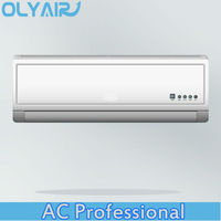 High Cooling Efficiency air conditioner toshiba compressor with olyair beautiful indoor panel wall hanging air conditioner