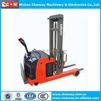 Factory price 2 Ton 24V small electric pallet truck/electric battery truck AC driving lifting height 1m