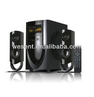 new product 2.1 spekaer home theater multimedia 2.1 speaker with remote