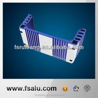 custom anodized extruded aluminum electronic enclosures