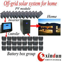 5KW off-grid solar power system for small homes