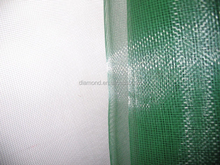 insect protection green plastic window screen