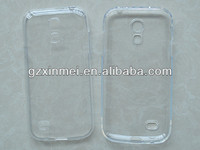 TPU cover for Samsung Galaxy S4 Mini case,for samsung i9190 clear color handbag