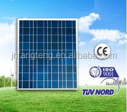 156 x 156mm Solar Cells, ,12V 60W Polycrystalline Solar Panel
