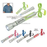 Latest popular custom logo advertising plastic ball pen Plastic Multi-Function LED flashlight pen