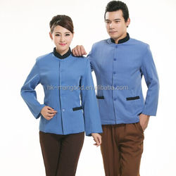 100% cotton beauty salon and spa uniform
