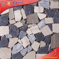 SD09 finaliza forma piedra efecto azulejos patrón de piedra para el suelo del jardín
