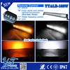 Y&T New Dual color car led light bar 12v with Wireless Remote Control