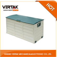 Professional garden supplier Outdoor plastic Storage Box for hand tool