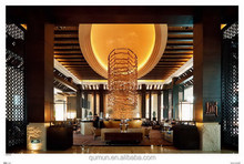 China manufacturer customized best selling durable quality good looking hotel lobby furniture