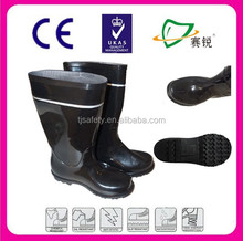 wholesale neoprene woman' tall rubber rain boot