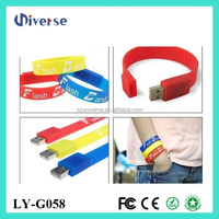 Easy carry usb bracelet,custom usb,usb flash drive wholesale