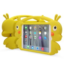 Factory direct sales yellow duck case for ipad mini and air