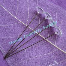 Fashion Wedding Ornament 60mm Clear Crystal Corsage Pins