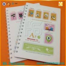a5 özel spiral defter promosyon ucuz geri dönüşüm notebook hediye kalın çizgili defter