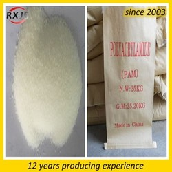 Leather mills waste water treatment flocculant agent polyacrylamide