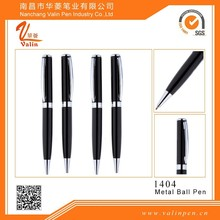 2015 Black heavy metal ball pen solid write and heavy hand-feeling best gift for client
